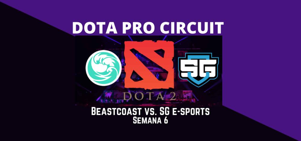 Apostar en Dota - Beastcoast vs SG e-sports