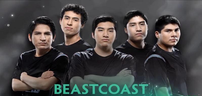 Apostar en Dota - Equipo Beastcoast