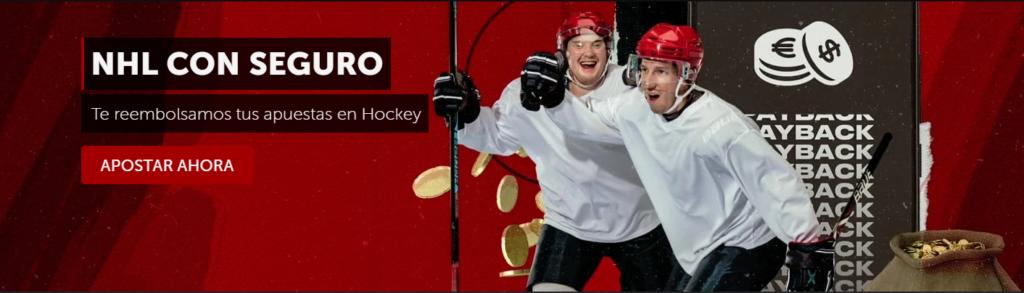 NHL con seguro