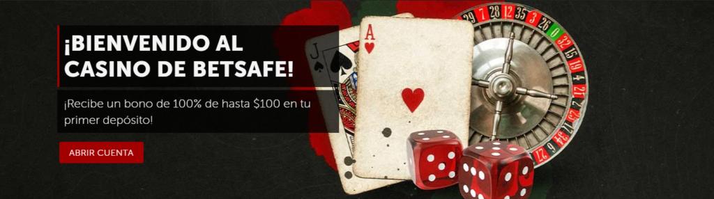 bienvenido al casino betsafe