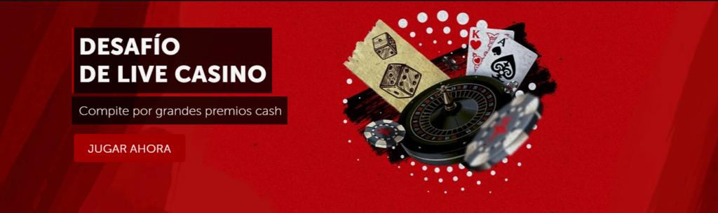 desafío live casino betsafe