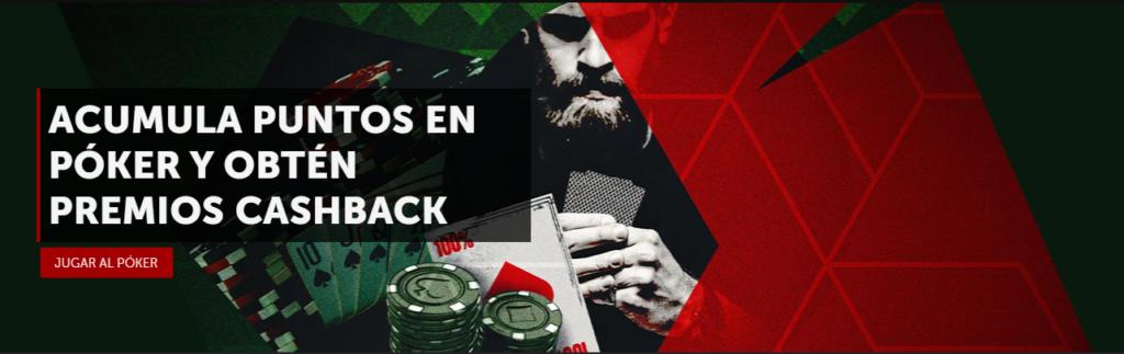 cashback en poker