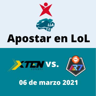 Apostar en LoL - XTEN vs. R7