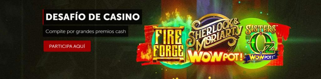 desafío de casino