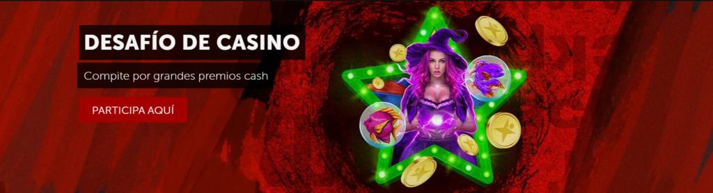 desafío de casino abril