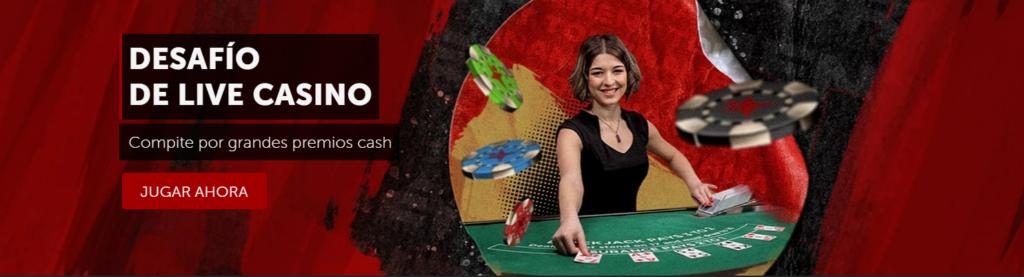 desafío live casino