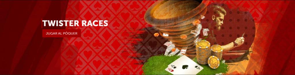 twister races poker online