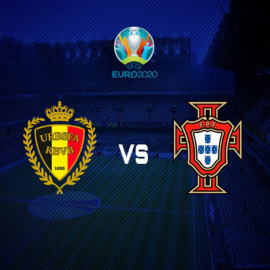 Belgica vs Portugal Eurocopa 2020