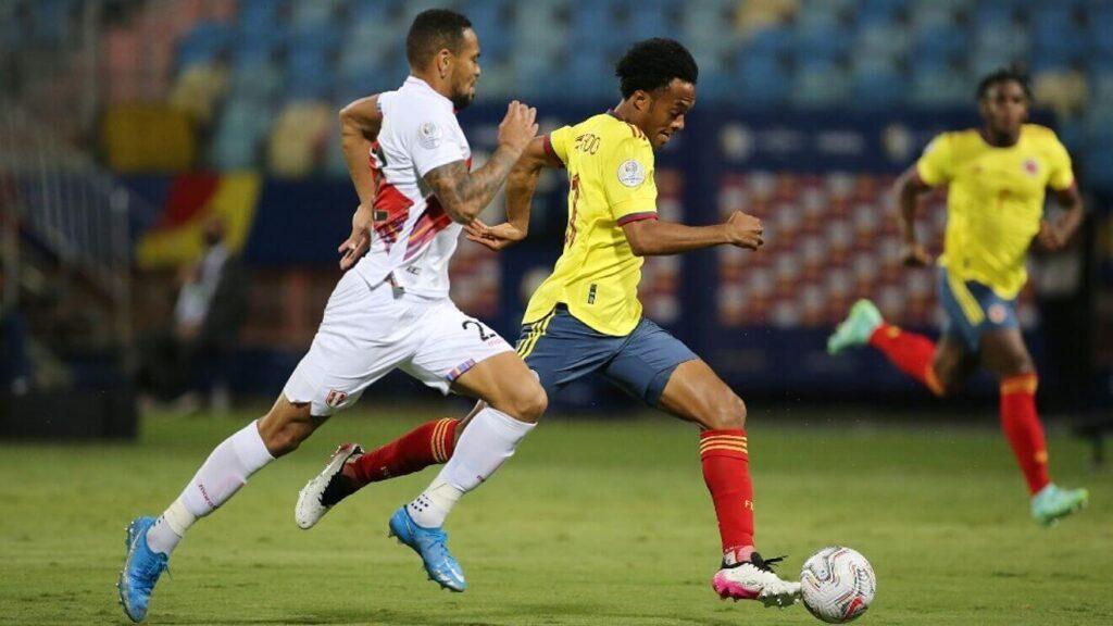 Apostar Colombia vs Perú