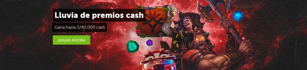 lluvia de premios cash