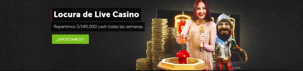 Locura de Live Casino