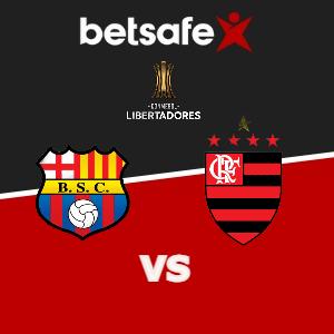 Barcelona SC vs Flamengo apuestas Betsafe Perú