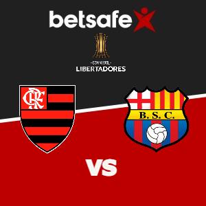 Flamengo vs Barcelona SC apuestas Betsafe Perú