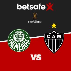 Palmeiras vs Atlético Mineiro apuestas Betsafe