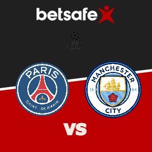 PSG vs Manchester City apuestas Betsafe Perú